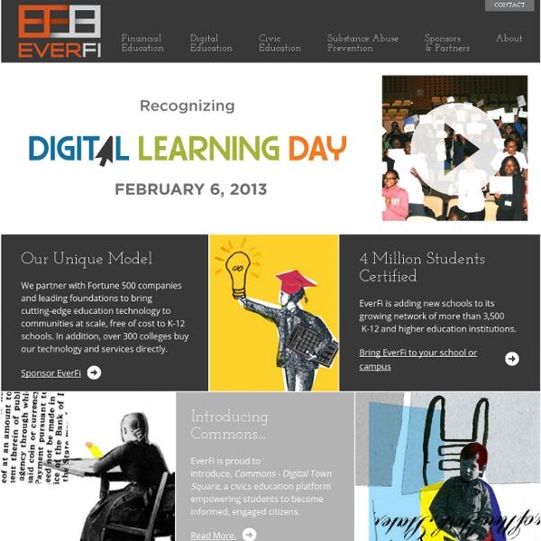 Everfi - Online Financial Literacy Education Platform