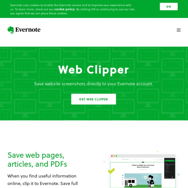 Web Clipper lets you save webpage text, links and images with a single click