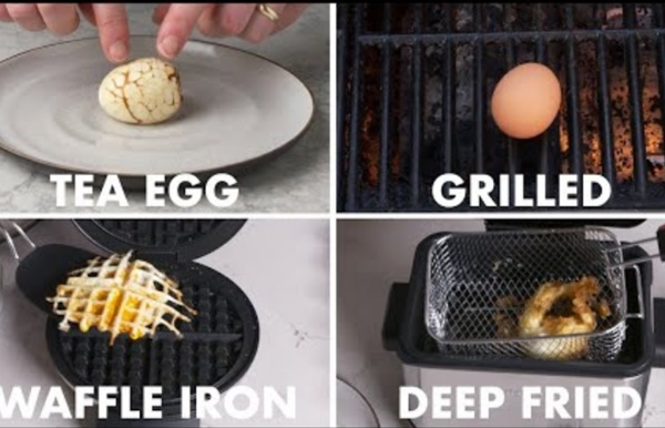 (2) Every Way to Cook an Egg (59 Methods)