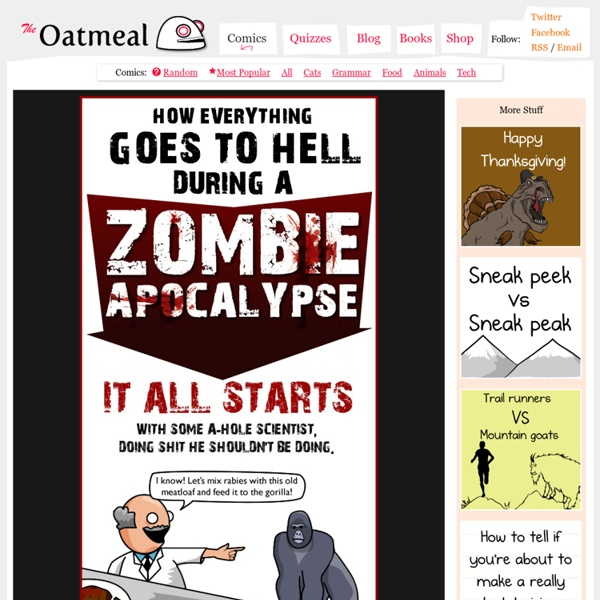 How Everything Goes to Hell During a Zombie Apocalypse