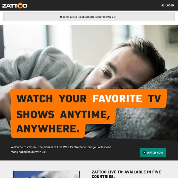 Zattoo - Live TV and More