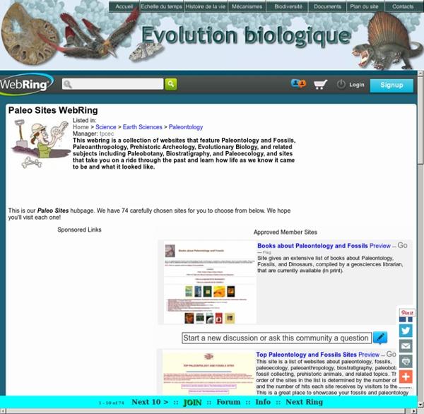 Evolution biologique