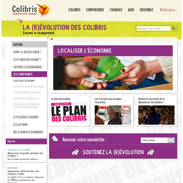 La (R)évolution des Colibris