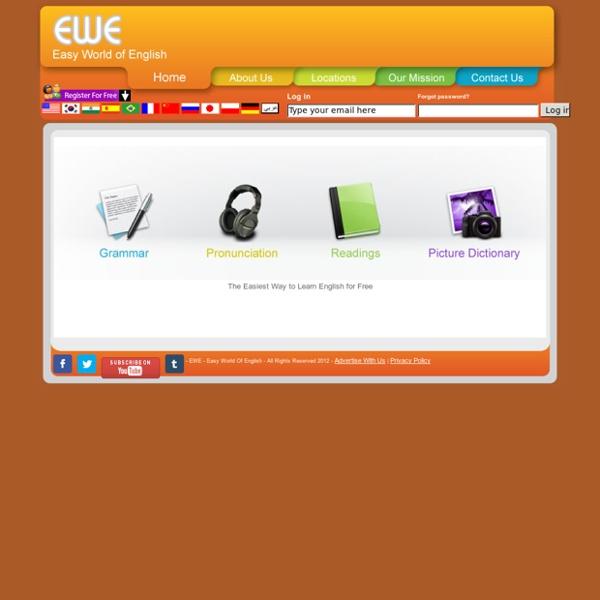 EWE - Easy World Of English // HOME