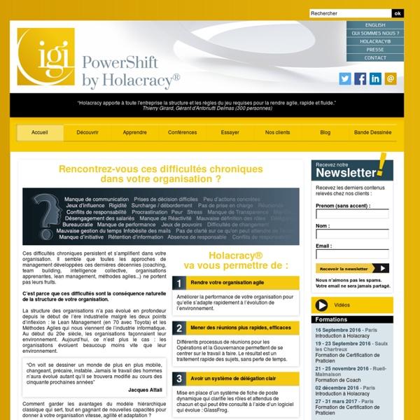IGI Partners : L'Excellence en Holacracy®
