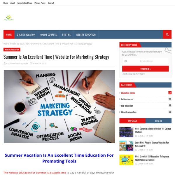 Website For Marketing Strategy