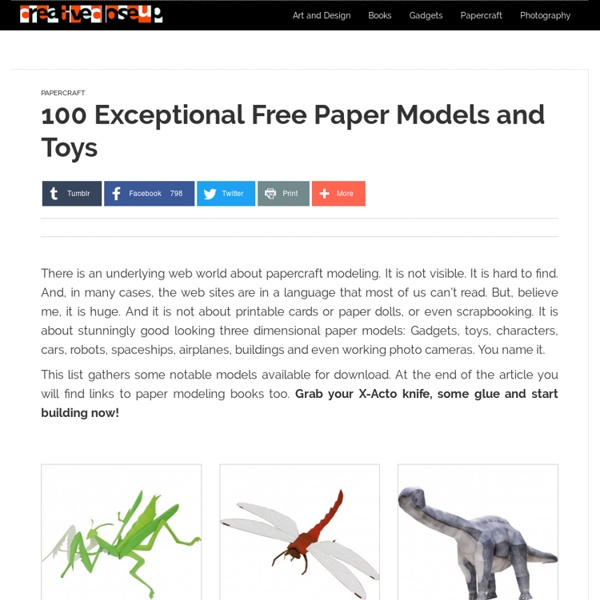 100 eccezionali modelli di carta gratis e passatempi