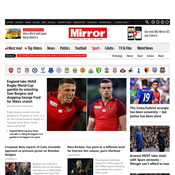 Sport: News, exclusives, reports, previews, live blogs