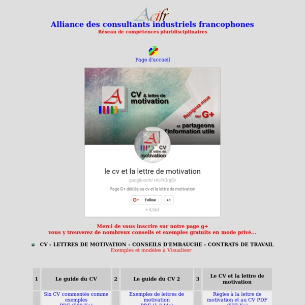 cover letter example  cv et lettre de motivation exemple