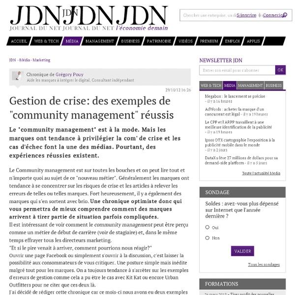 """Exemples de """"CM"""" réussis"""