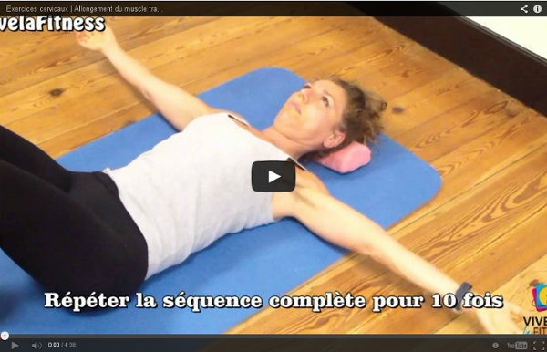 Allongement du muscle trapèze