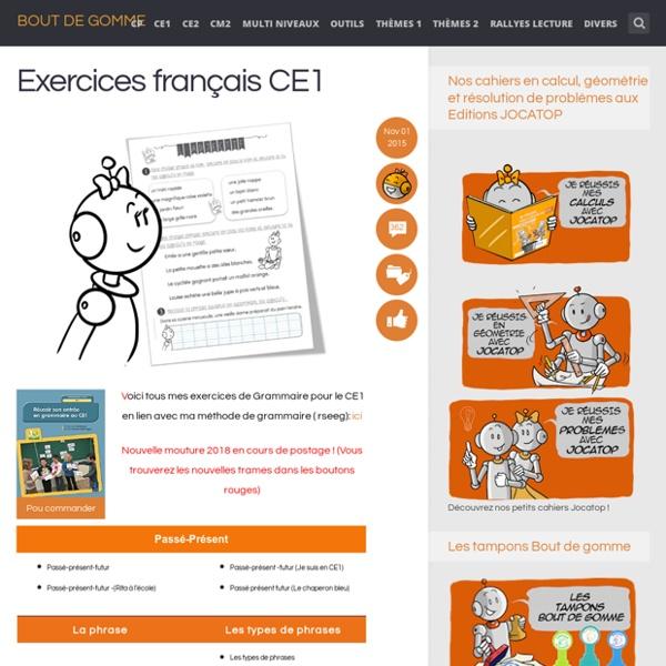 Exercices français CE1