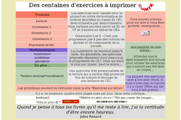 Exercices à imprimer CE1 | Pearltrees