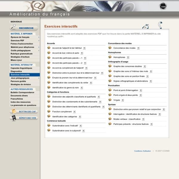 Franais Langue Etrangre - Infos -