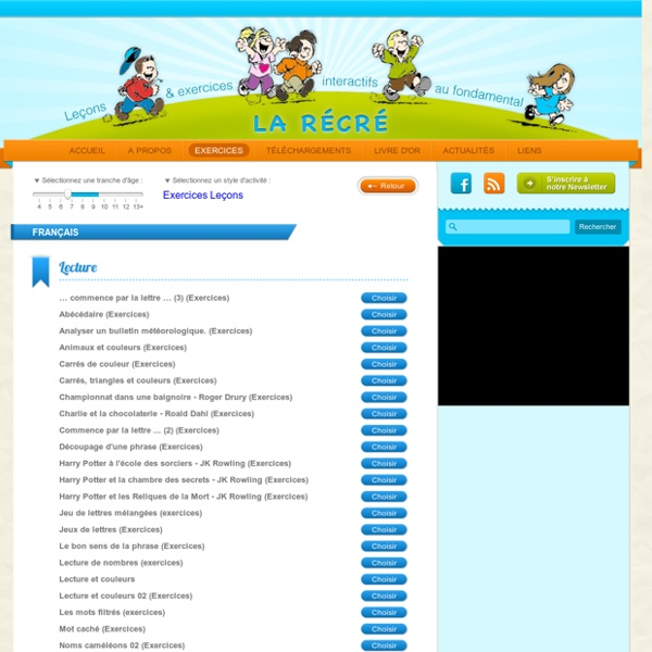 Exercices ludiques pour les enfants de primaire en français