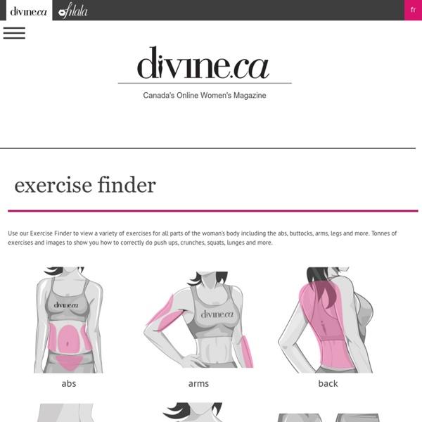 Exercise Finder, health - divine.ca - Page 4 - StumbleUpon