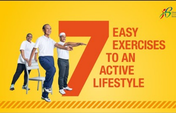 7 Easy Exercises to an Active Lifestyle (Full Version in English)