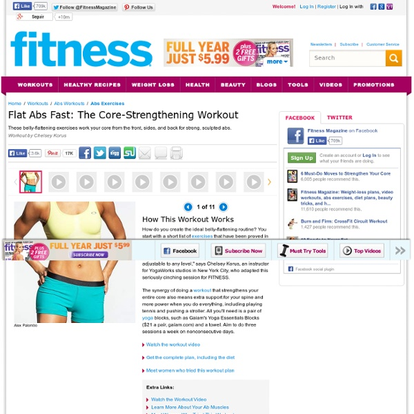 Exercises for Strong, Flat Abs