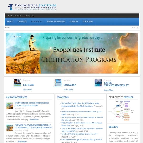 Exopolitics Institute