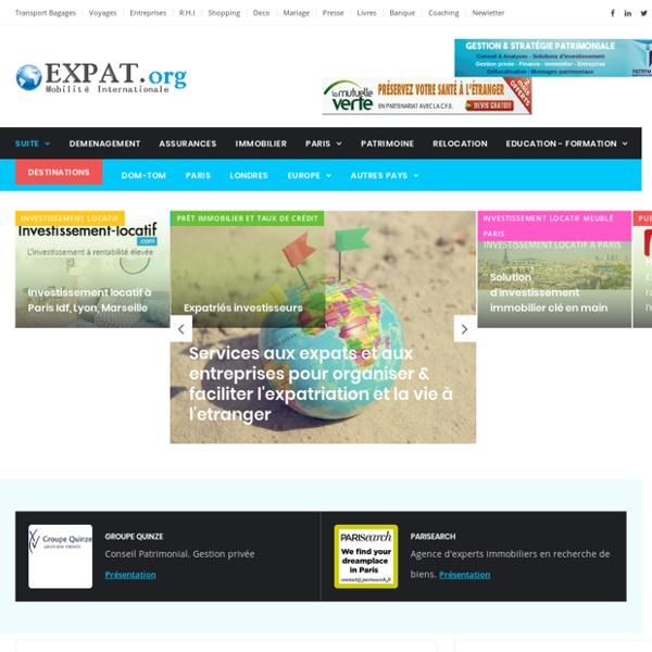 Expatriation, Le portail de l'expatriation et de la mobilite internationale,