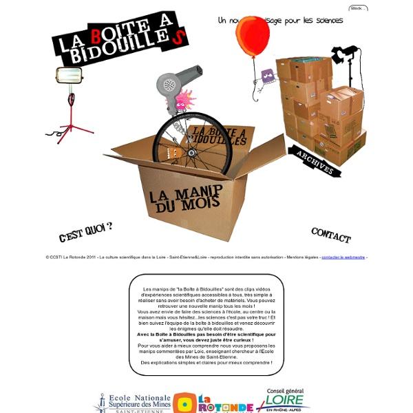 La Boîte à Bidouilles - Des expériences scientifiques en vidéo pour tous !