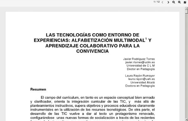 Www.gabinetecomunicacionyeducacion.com/files/adjuntos/Las tecnologías como entorno de experiencias alfabetización multimodal y aprendizaje colaborativo para la convivencia.pdf