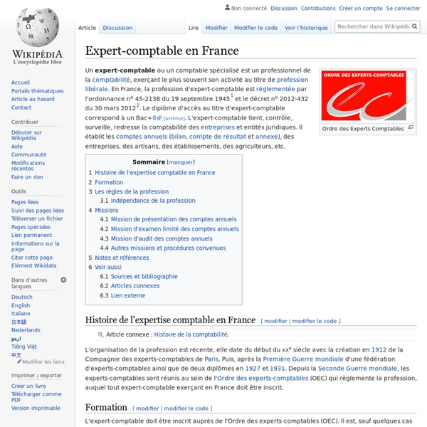 Expert-comptable en France
