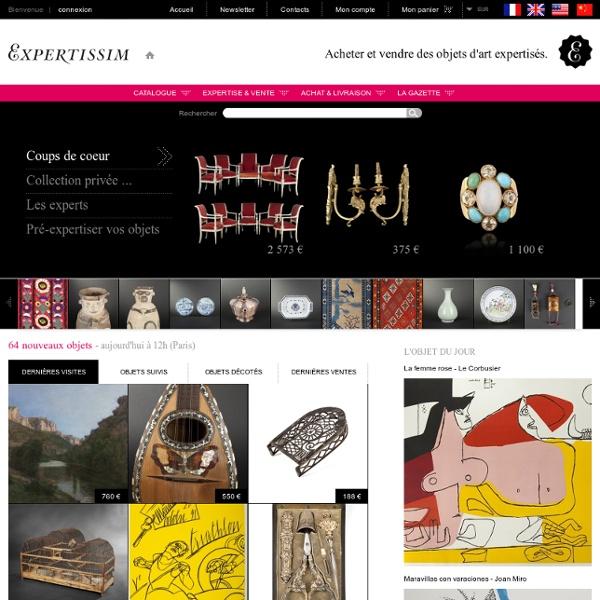 Expertise gratuite, achat, vente objets d'art et antiquités
