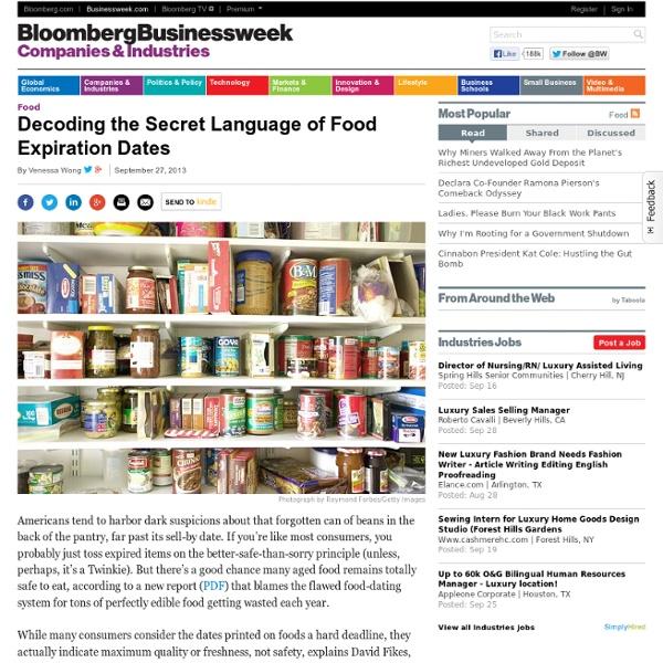 Decoding the Secret Language of Food Expiration Dates