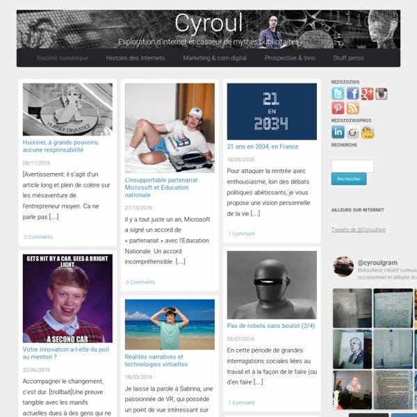 Cyroul.com, stratégies digitales et exploration d'Internet