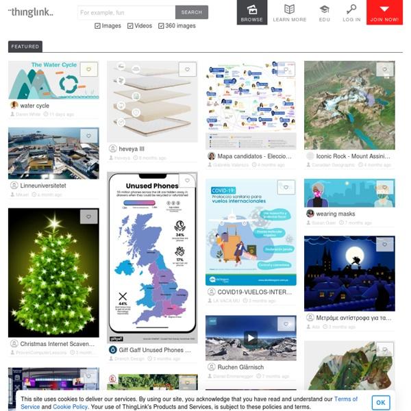 Thinglink : rendez vos présentations interactives.