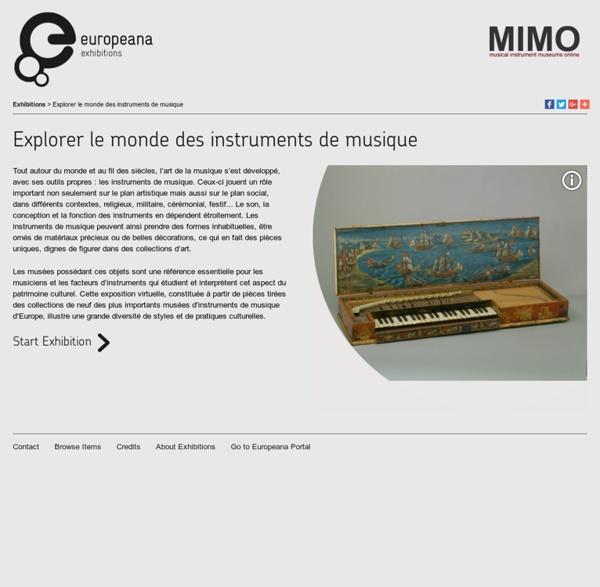 Explorer le monde des instruments de musique