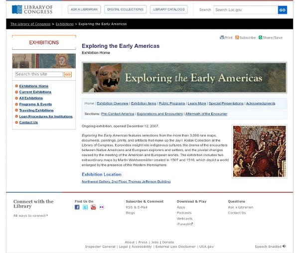 Interactives-Exploring the Early Americas