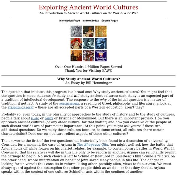 Ancient World Cultures