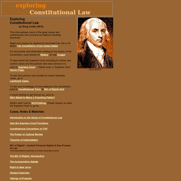 Exploring Constitutional Law