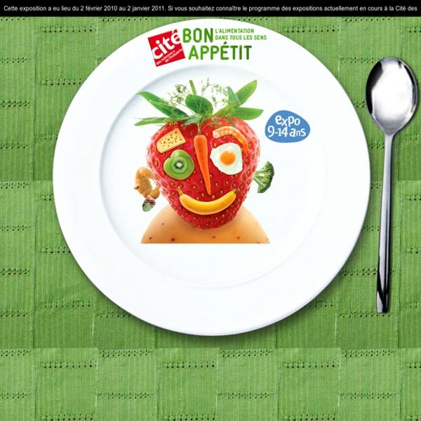 Exposition alimentation, Exposition pour enfants - Bon appétit - Cité des Sciences
