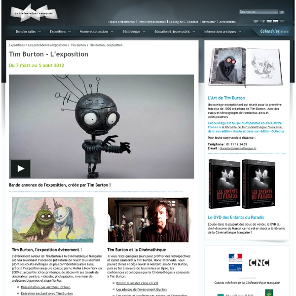Tim Burton, l'exposition
