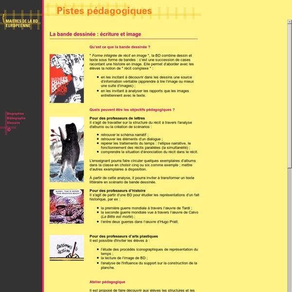 Exposition virtuelle - Maîtres de la BD européenne