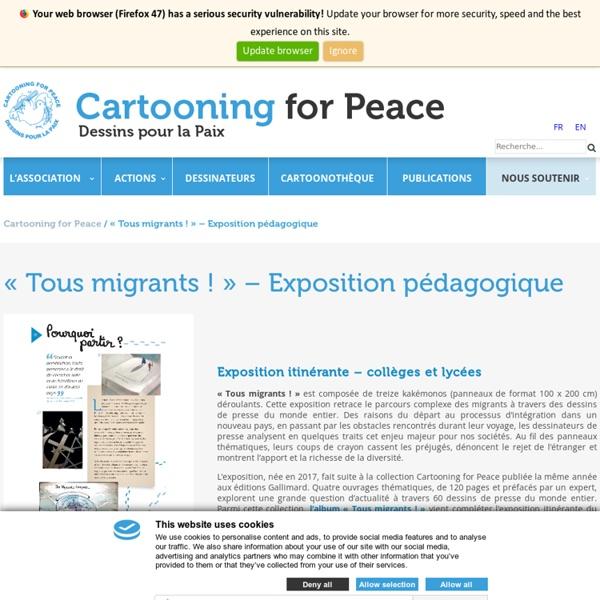 Exposition itinérante «Tous migrants !»