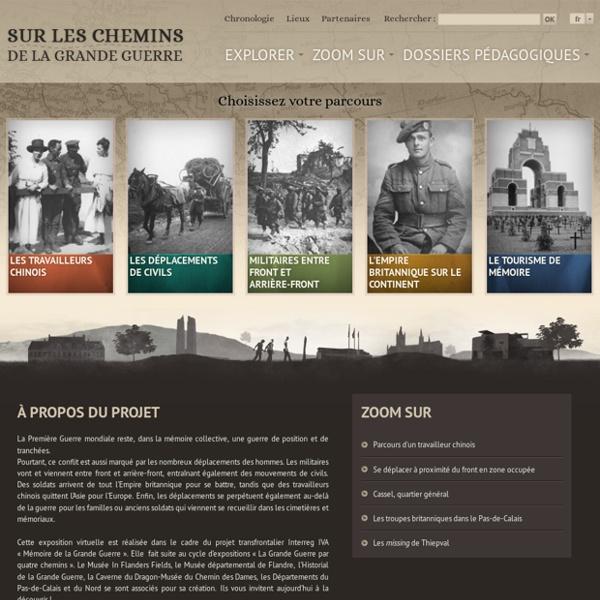 Exposition virtuelle - Sur les chemins de la Grande Guerre