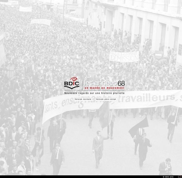 Exposition virtuelle - Les Années 68, un monde en mouvement