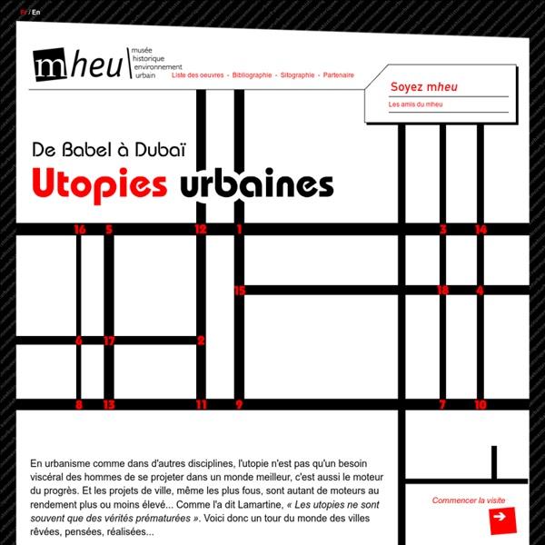 Exposition virtuelle sur les Utopies Urbaines