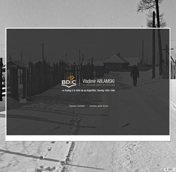 Exposition virtuelle - Vladimir Ablamski