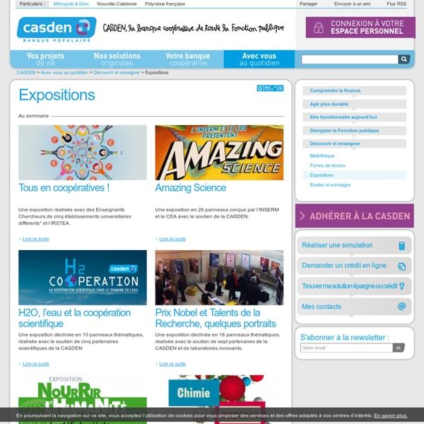 CASDEN Expositions