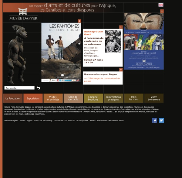 Musée Dapper - Un espace d'arts et de cultures pour l'Afrique, les Caraïbes et leurs diasporas à Paris