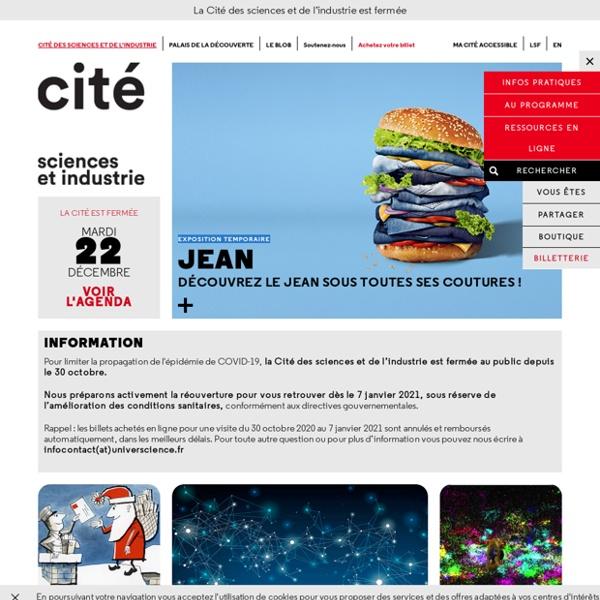 Cité des sciences et de l'industrie-Accueil-Expositions, conférences, cinémas, activités culturelles et sorties touristiques pour les enfants, les parents, les familles - Paris