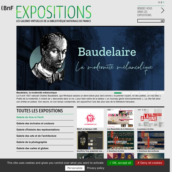 BnF - Expositions virtuelles