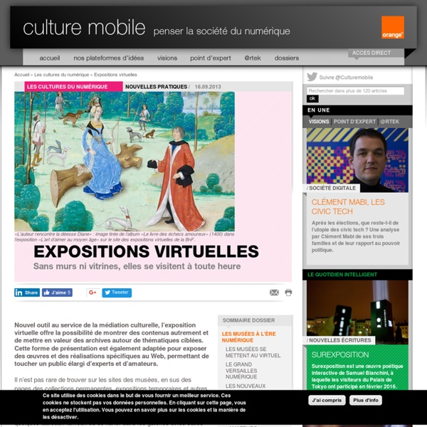 Expositions virtuelles