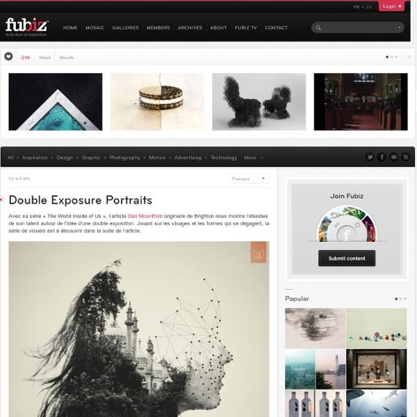 Double Exposure Portraits