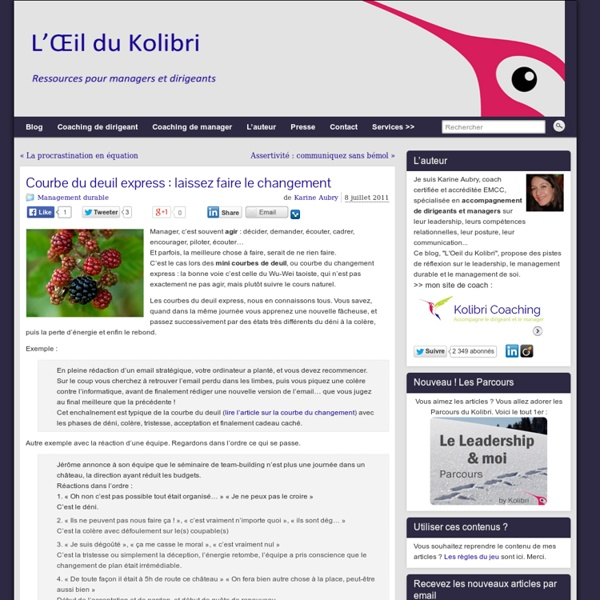 Kolibri coaching - Business coaching - Accompagnement à la réussite